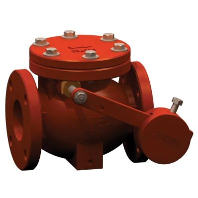 Swing Check Valve - AWWA C508 - CI - Model 7700